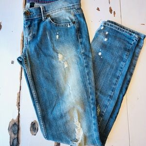 Distressed United Colors of Benetton Jeans